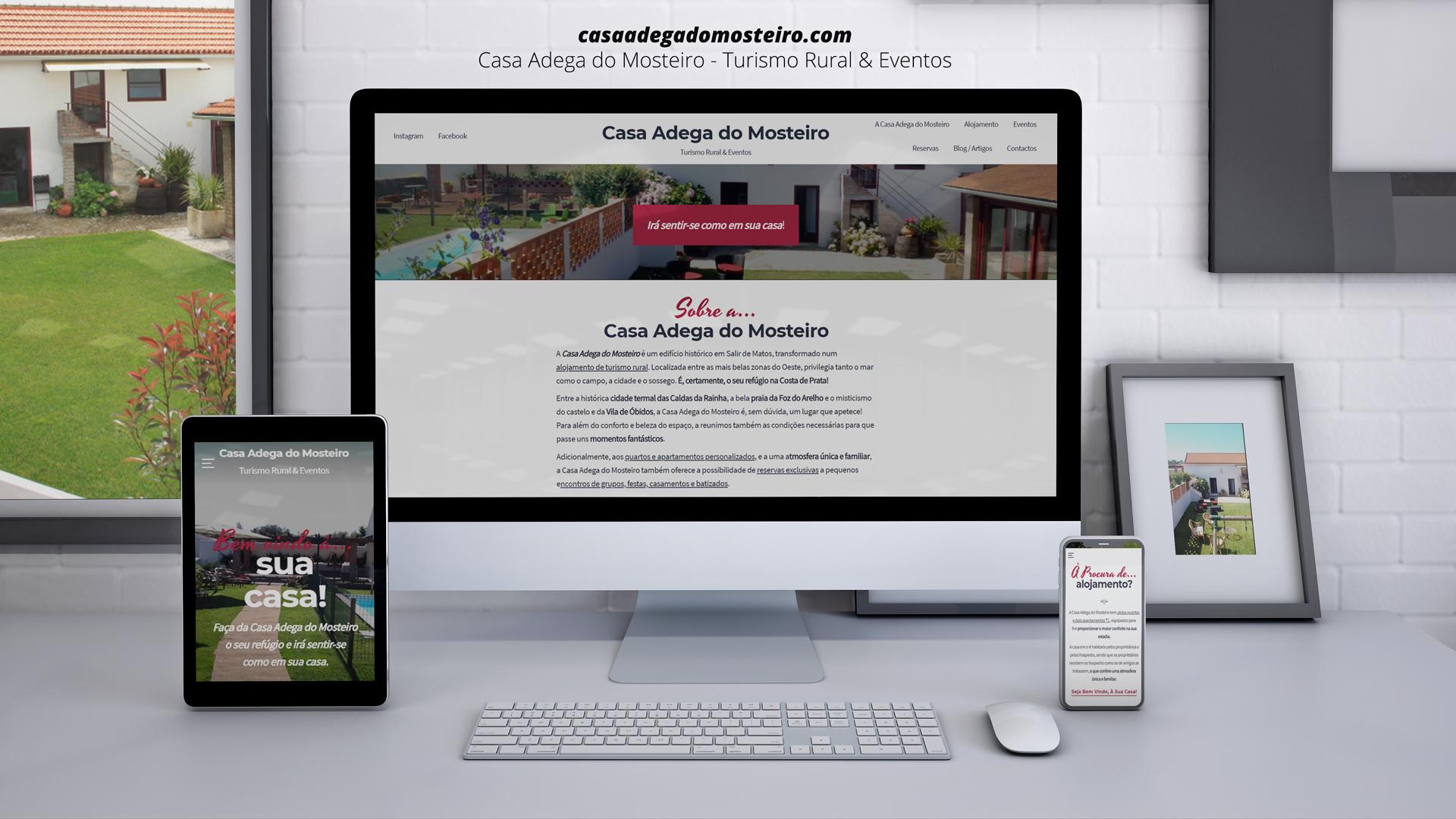 A Casa Adega do Mosteiro tem um novo website!